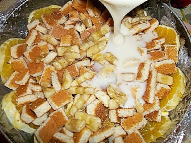 Приготовление - Как приготовить оригинальный фруктовый торт без выпечки - Шаг 7