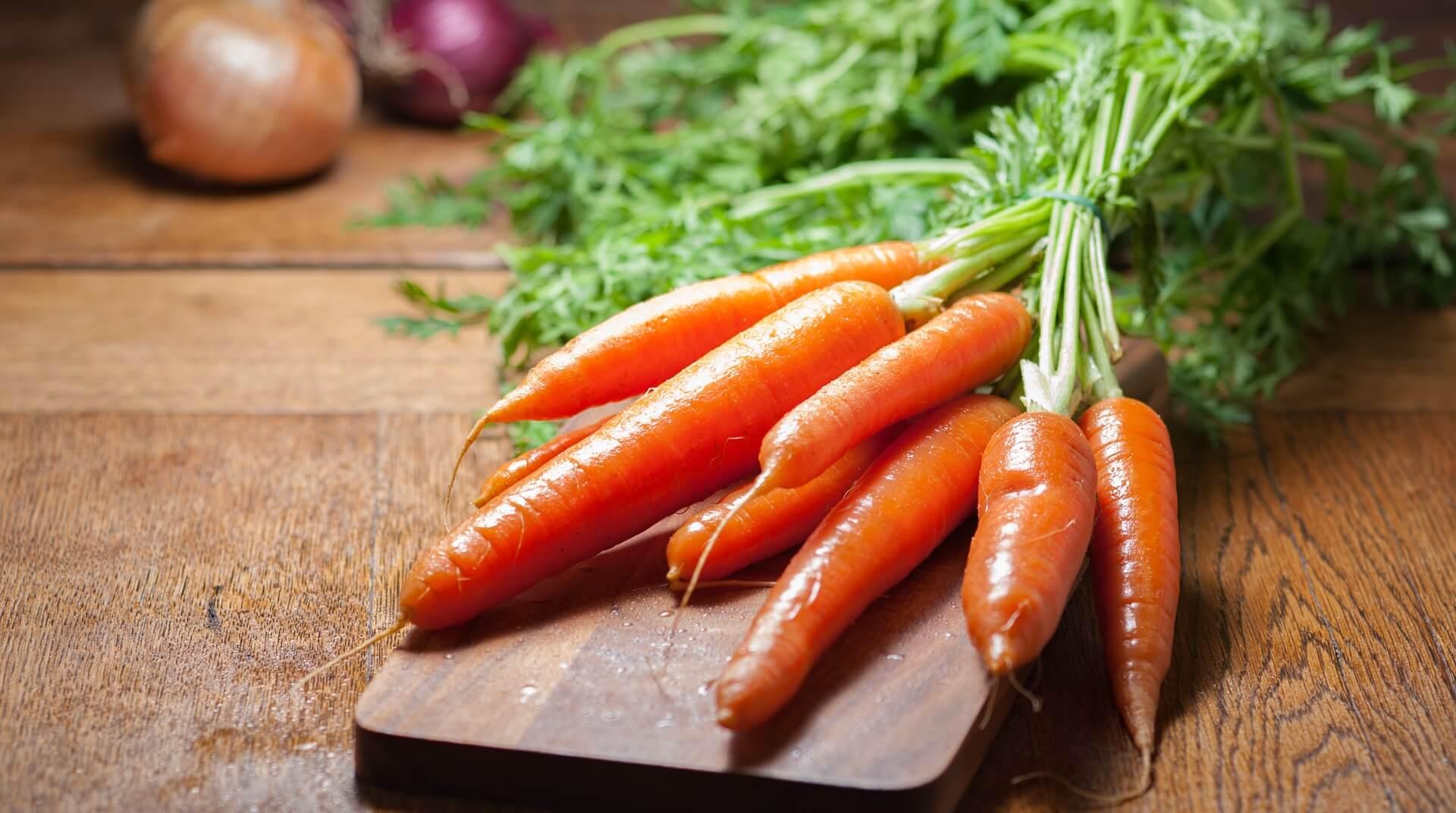 Рецепты из моркови для детей