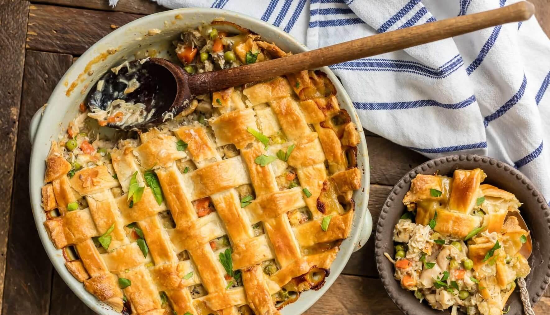 Пироги с овощами