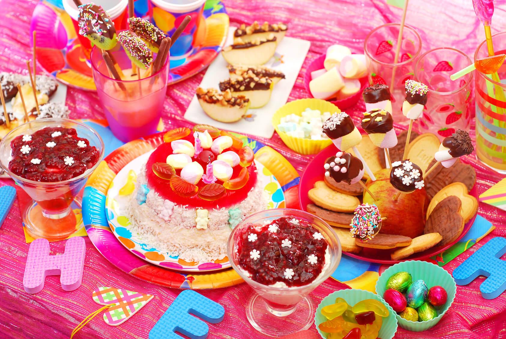 Рецепты на детский праздник