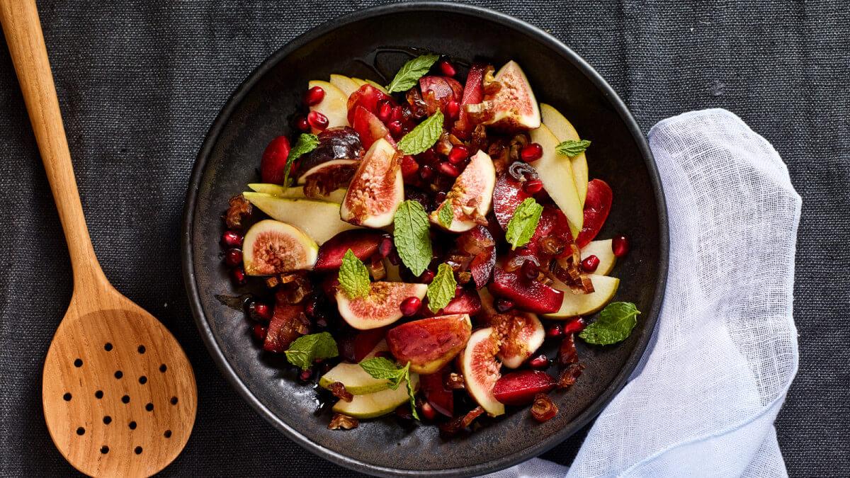 Салаты фруктовые