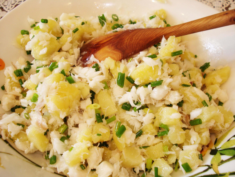 Салаты с картошкой