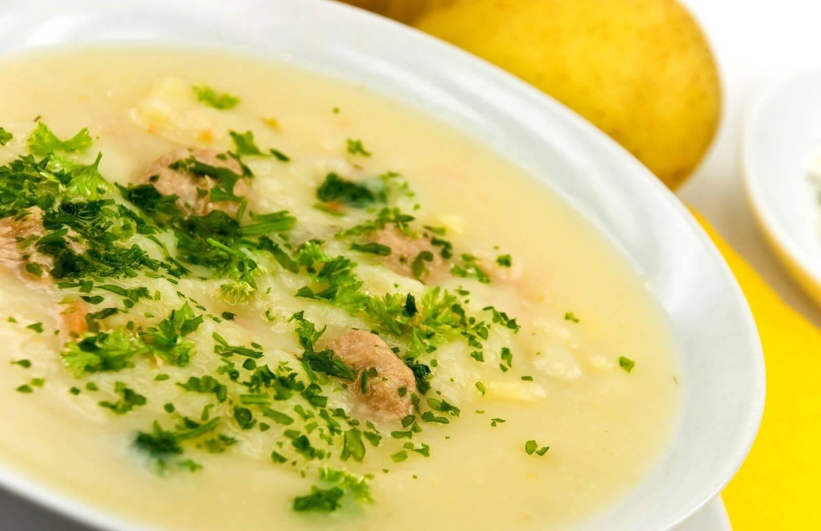 Суп-пюре / Крем-супы