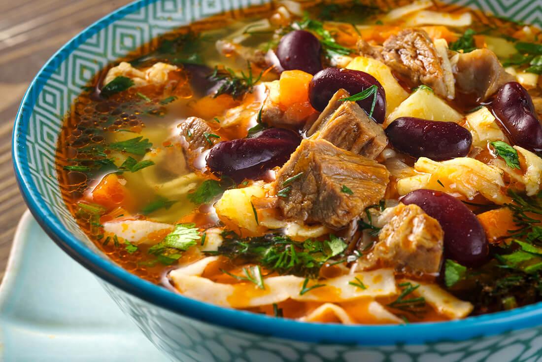 Супы с фасолью
