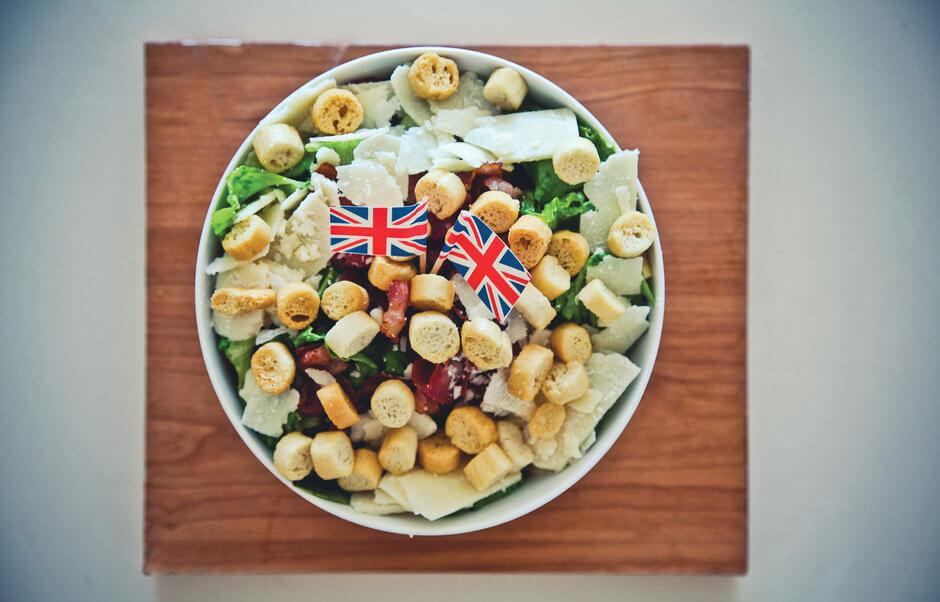 Английский салат «Цезарь» - простой и вкусный рецепт!