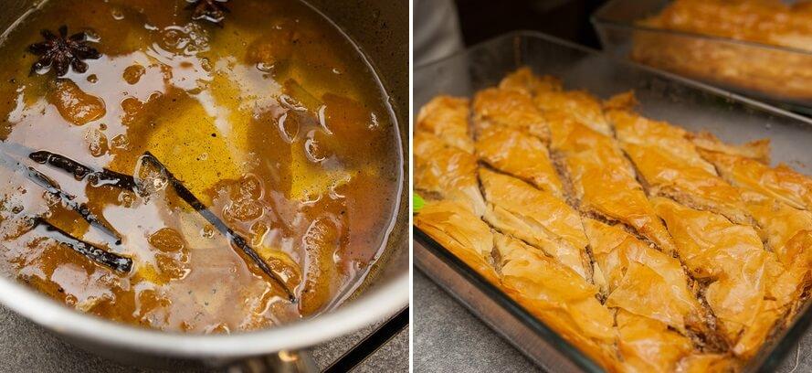 Баклава с орехами из готового теста фило - нереально вкусное восточное лакомство!