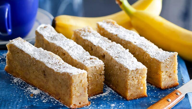 Банановый кекс в мультиварке