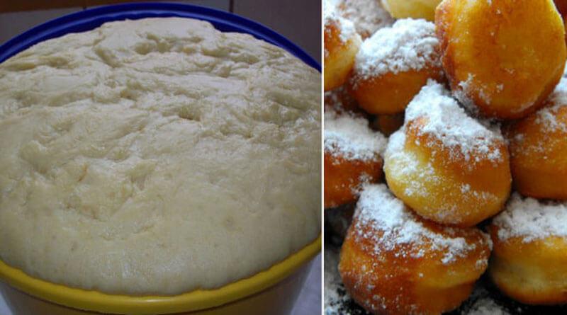 Быстрое тесто за 15 минут! Отлично подходит для пончиков!