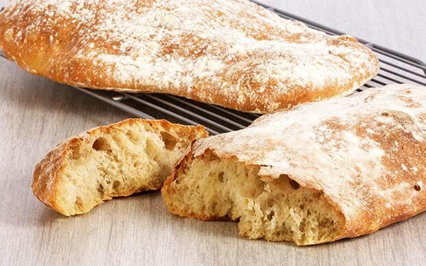 Чиабатта – итальянский деревенский хлеб