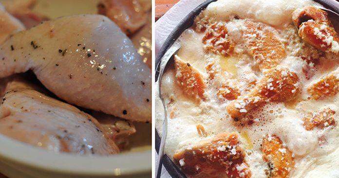 Чкмерули по грузински - пошаговый рецепт приготовления