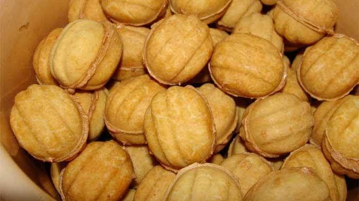 Домашнее печенье «Орешки». Простой рецепт, восхитительный вкус!