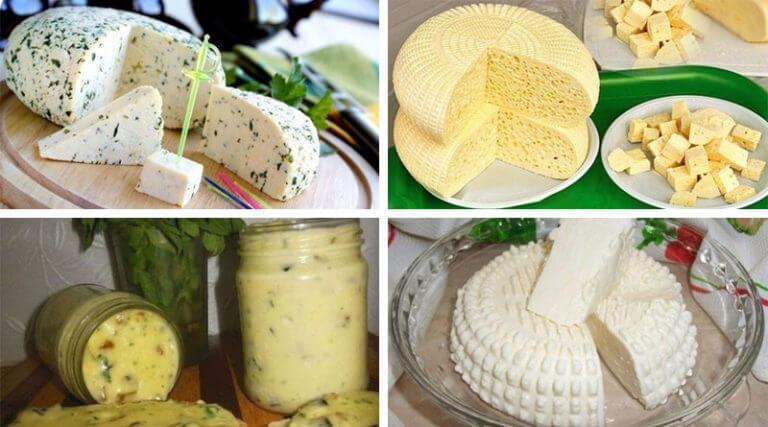 Домашние сыры. 15 рецептов приготовления