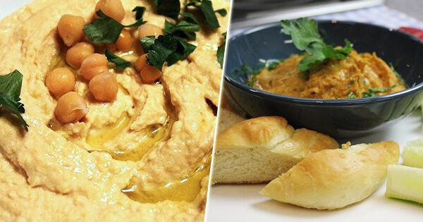 Два способа приготовления настоящего домашнего хумуса