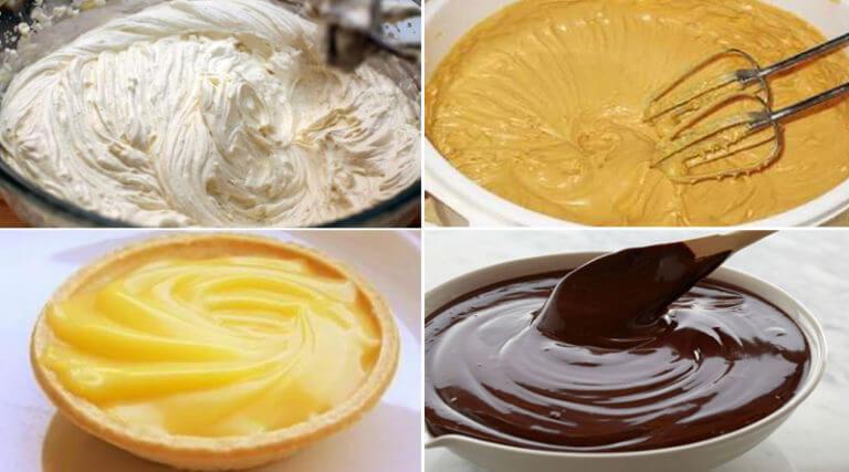 ТОП-8 вкуснейших кремов для тортов за 2 минуты!