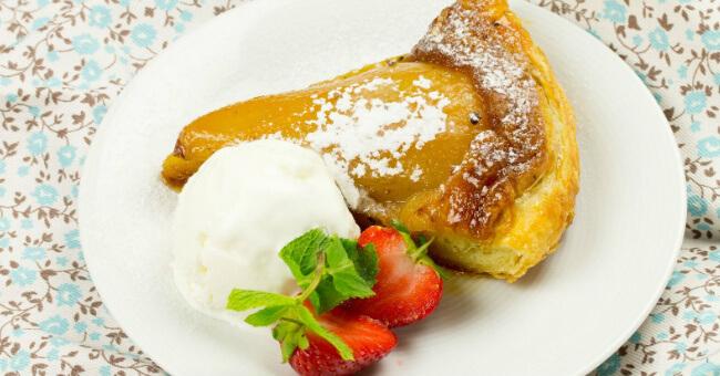 Грушевый пирог: простой рецепт