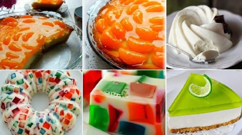 Идеальная подборка: 6 лучших рецептов восхитительных желейных десертов