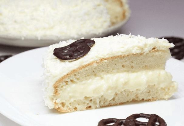 Изумительный торт «Рафаэлло» с нежным кремом