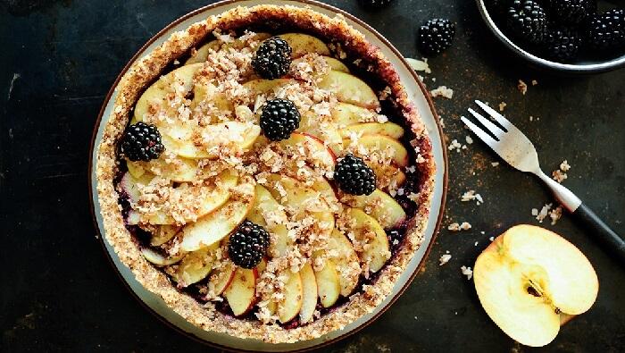 Яблочный пай БЕЗ муки и БЕЗ сахара