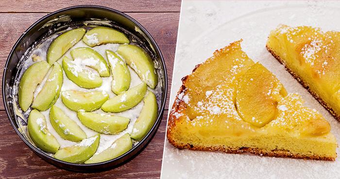 Яблочный пирог: пошаговый рецепт в домашних условиях