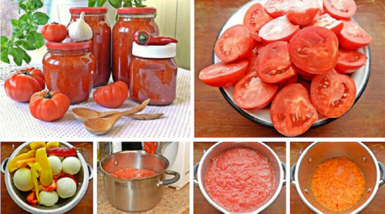 Как приготовить домашний соус из помидоров и перца на зиму