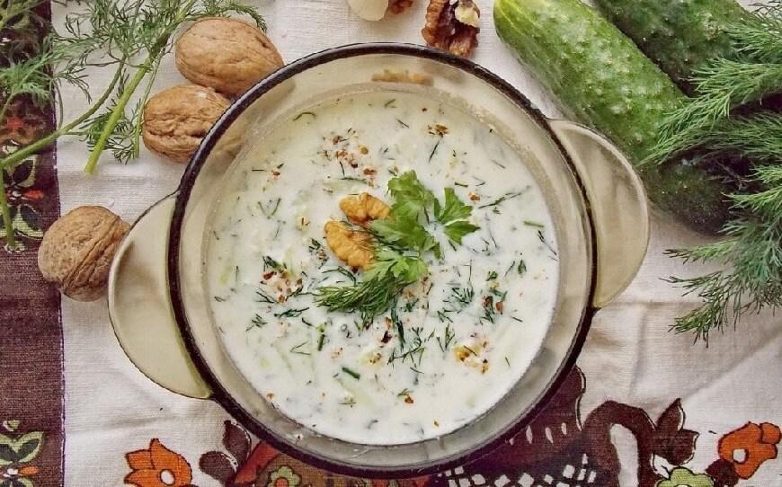 Как приготовить холодный суп Таратор