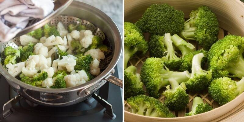 Как приготовить овощи на пару правильно и вкусно