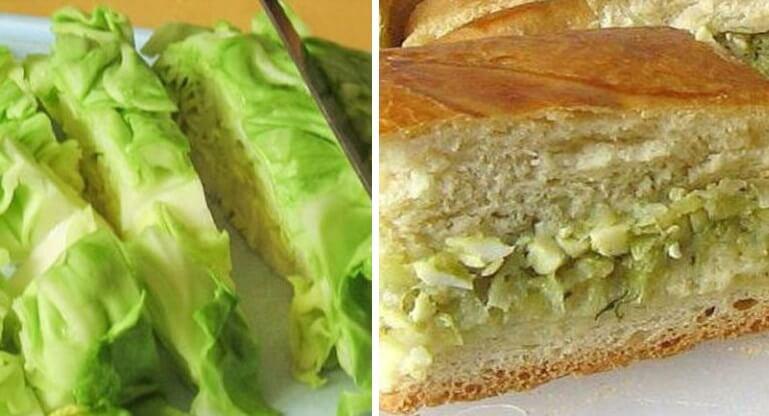 Как приготовить потрясающе вкусный пирог с капустой