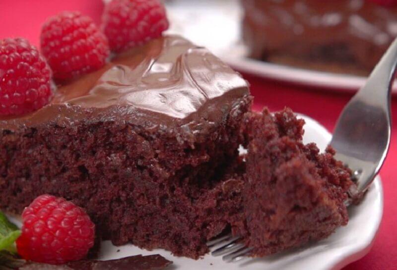 Как приготовить простой шоколадный торт