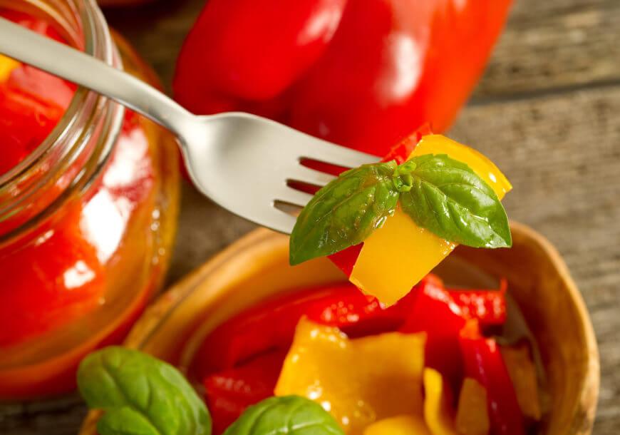 Как приготовить вкуснейший маринованный болгарский перец