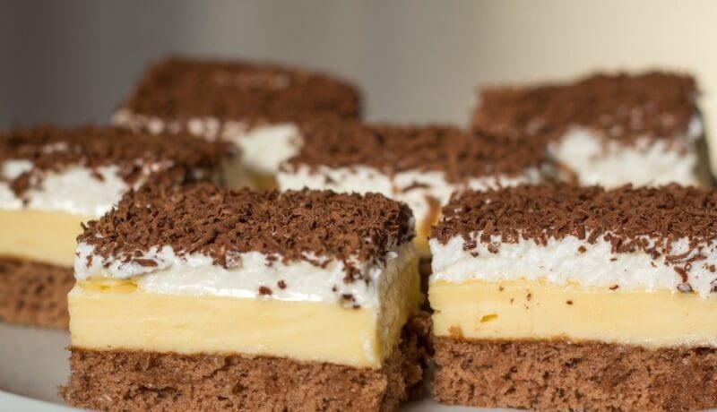 Как приготовить вкусное пирожное из простых и вполне доступных ингредиентов!