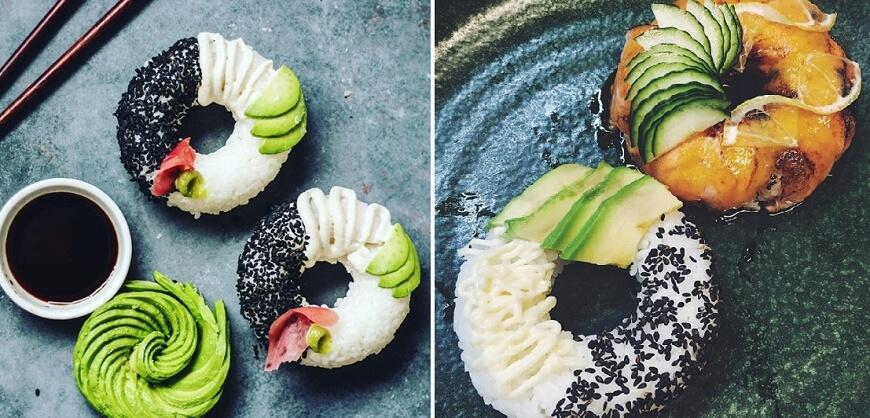 Как собрать суши необычно и красиво