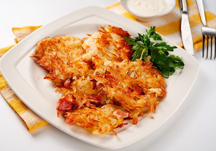 Картофельные драники: вкусно и быстро