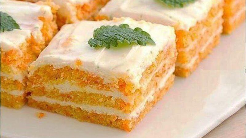 Худеем вкусно: безумно нежный и вкусный морковный домашний торт