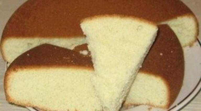 Классический рецепт: пышный и простой бисквит