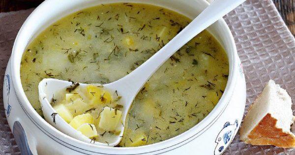 Лучший способ приготовить молодой картофель. Такой суп очень легко сварить, а его потрясающий вкус способен свести с ума любого!