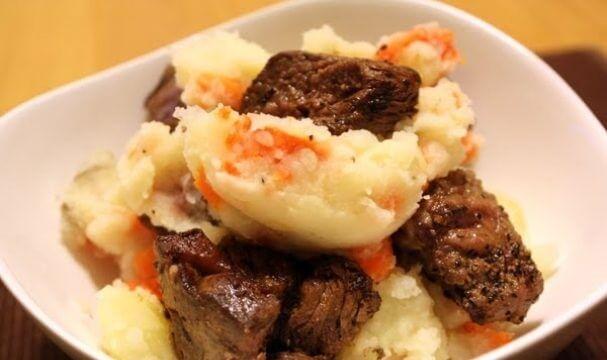 Мясное рагу с овощами «Гюцпот»