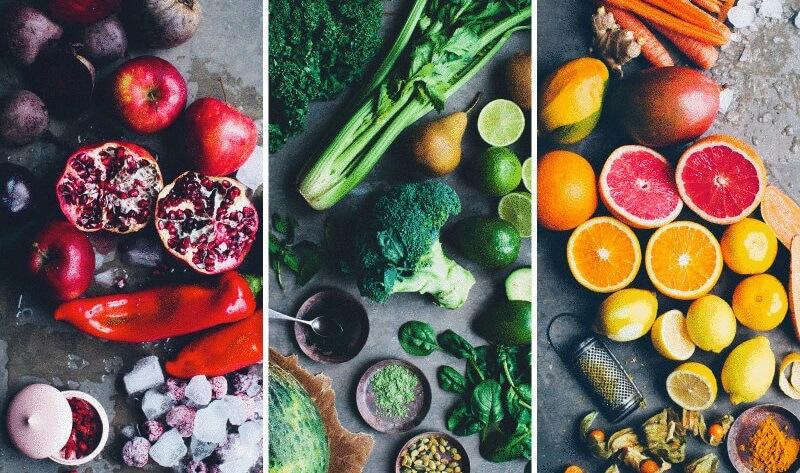 Наиболее полезные сочетания овощей и фруктов