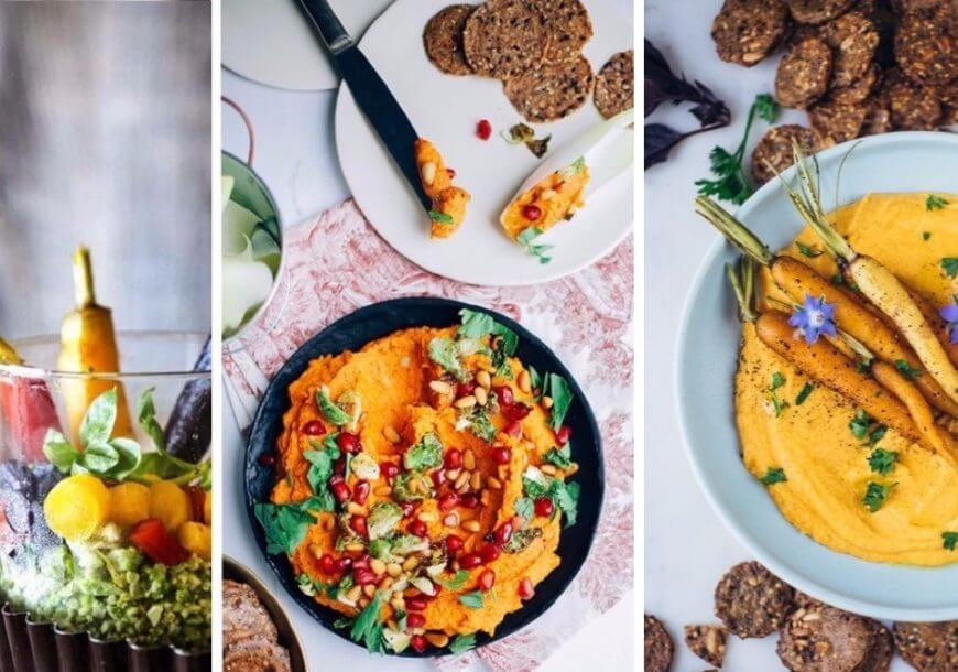 Необычная закуска из моркови с харисой по-мароккански