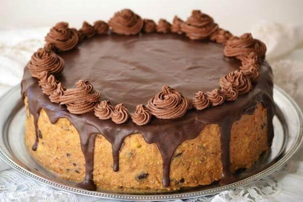 Необычный домашний шоколадный торт на кефире «Черная магия»