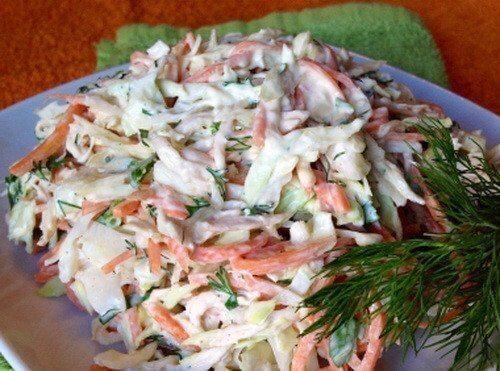 Необычный вкусный салат «Корейская курица»