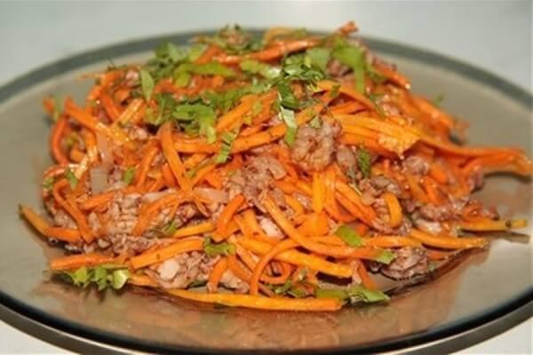 Оригинальный корейский салат «Хе»