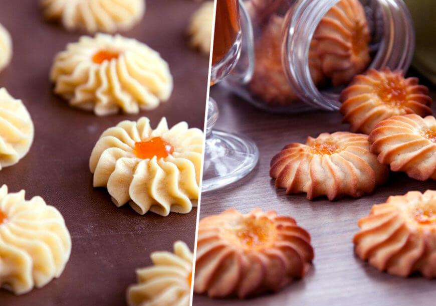Печенье Курабье в домашних условиях