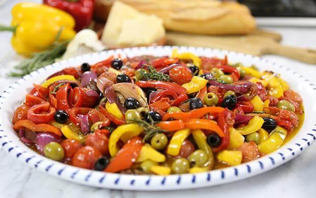 Пепероната по-сицилийски - идеальное блюдо для любителей овощей!