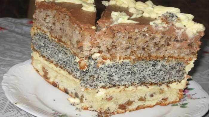 Праздничный, простой в приготовлении вкусный торт «Каприз»
