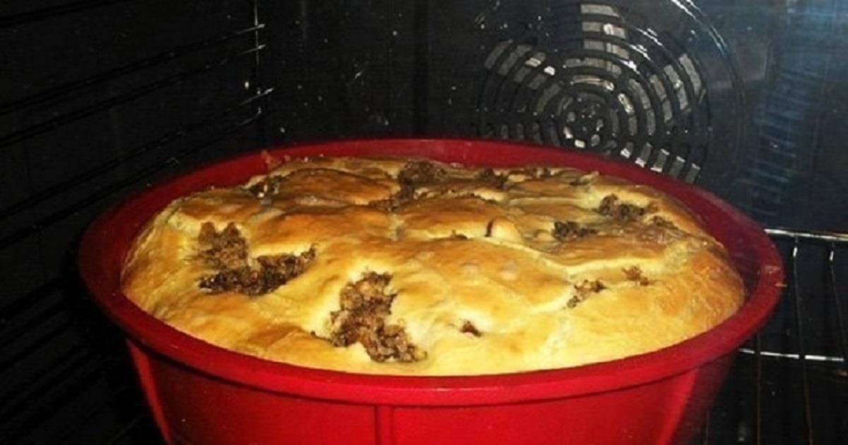 Простой рецепт быстрого пирога на кефире
