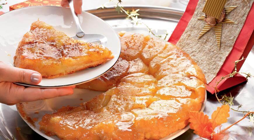 Простой рецепт: французский тарт Татен с яблоками