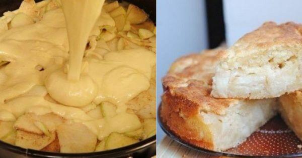 Простой рецепт потрясающего пирога с яблоками «Шарлатанка»! Этот пирог в странах бывшего СССР принято называть шарлоткой!