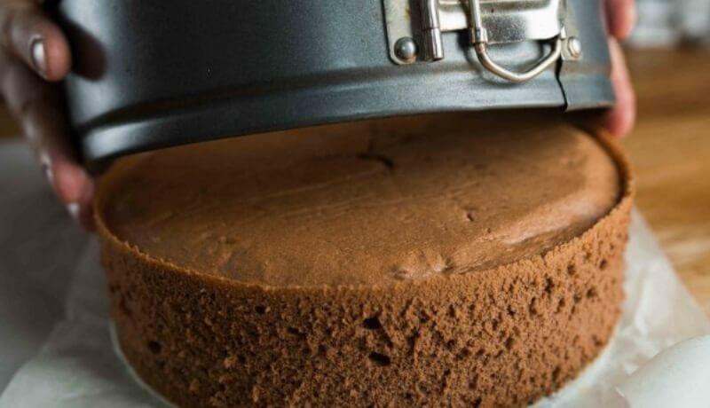 Простой рецепт шоколадного бисквита для торта