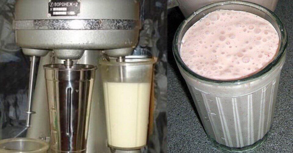 Рецепт молочного коктейля по ГОСТу!