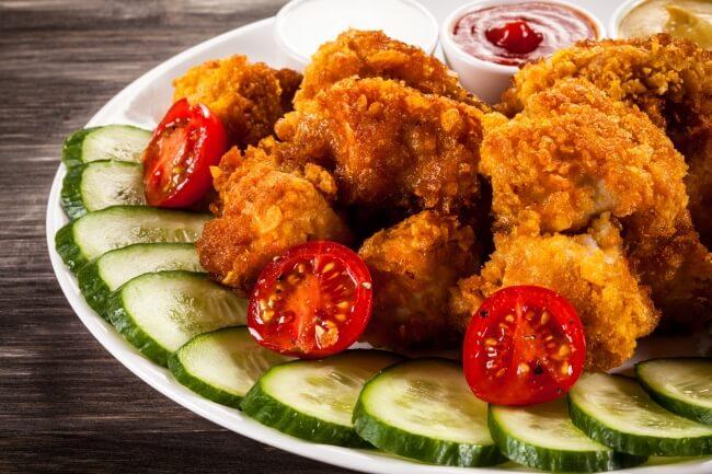Рецепт овощных фрикаделек в панировке